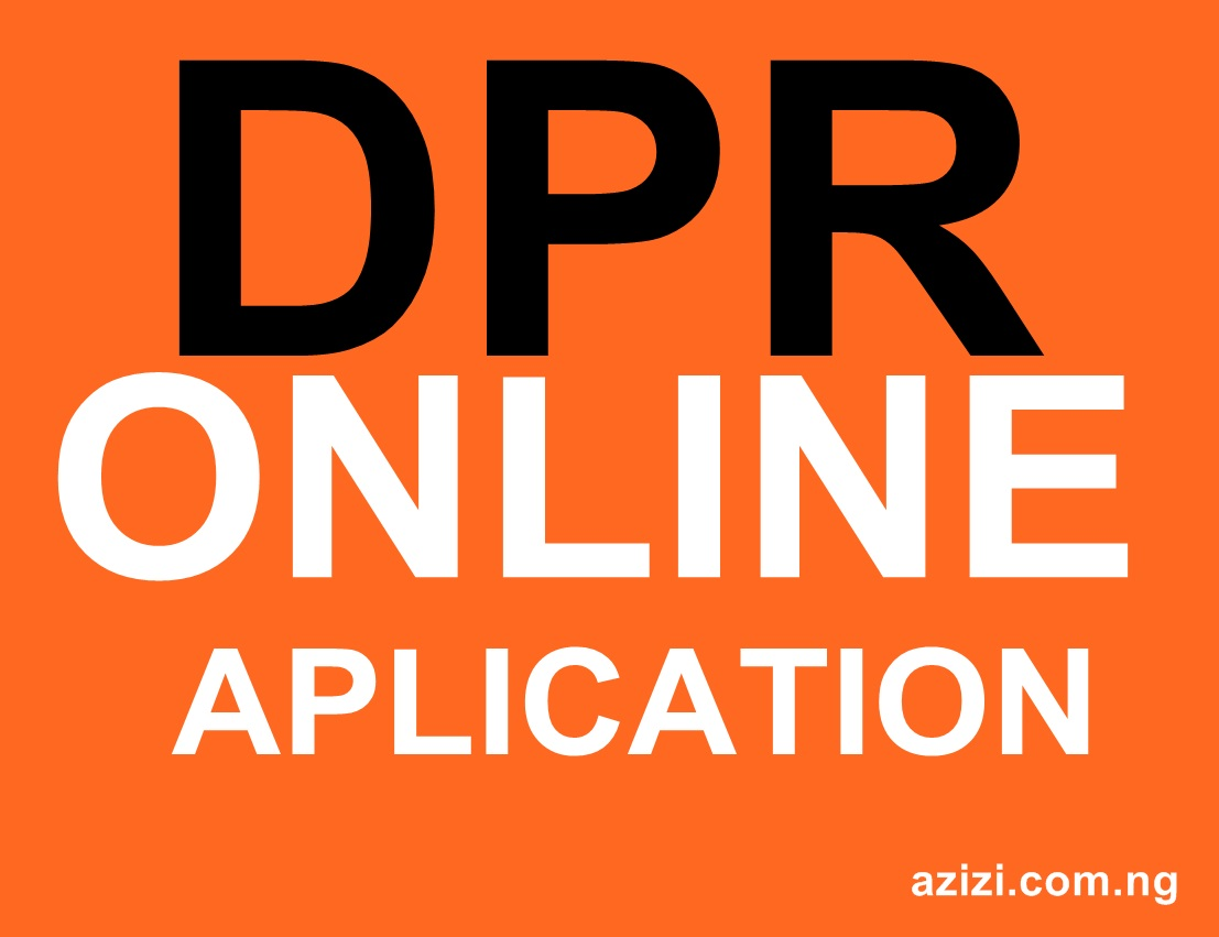 HOW TO PAY DPR FEES ONLINE WITH PICTURE DEMONSTRATIONS