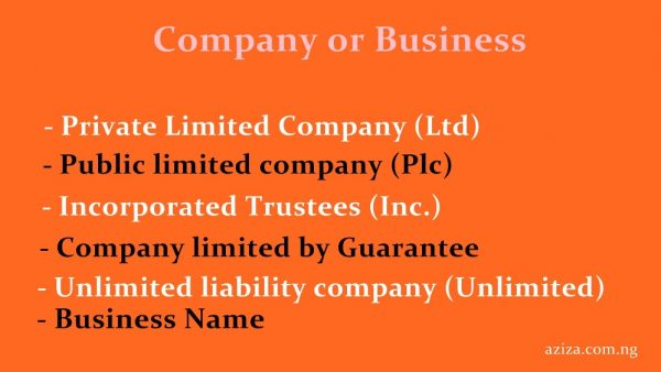 business or company registration in Nigeria