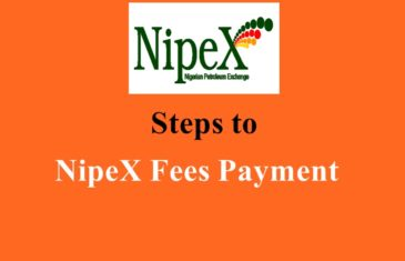 how to make NipeX fees payment