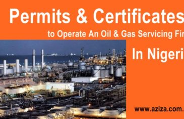 Permits and Certificates To Operate Oil & Gas Company In Nigeria