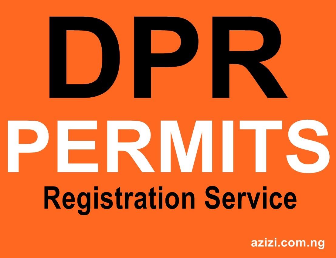OGISP DPR Permits  as an Enterprise Firm / Business Name