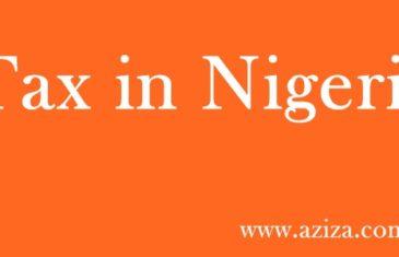 Tax in Nigeria