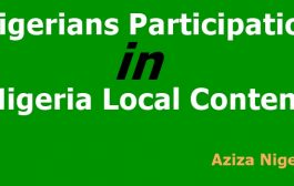 Nigerians Participation in the Local Content