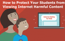 Protecting Students from Internet Harmful Content