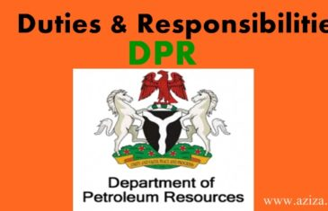 Duties and Responsibilities of department of petroleum resources (DPR) in Nigeria