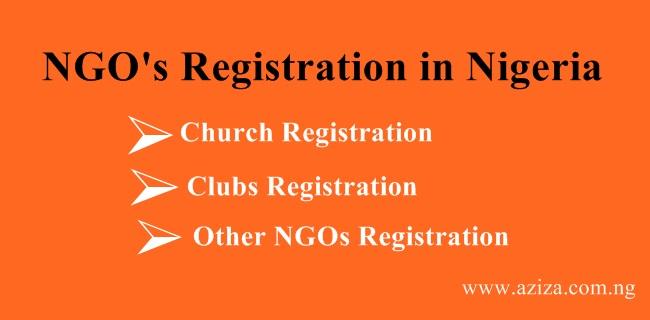 CHURCH, NGOS, MOSQUE REGISTRATION IN NIGERIA