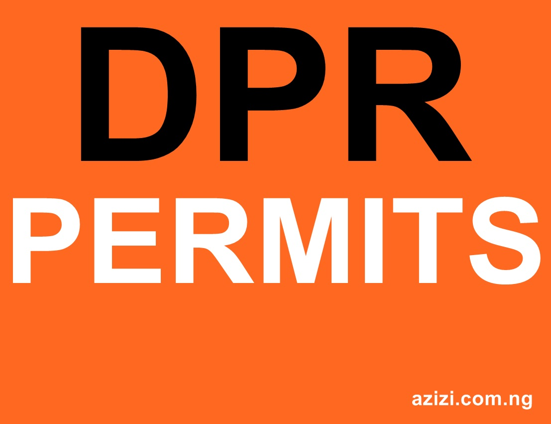 DPR Permit Requirements