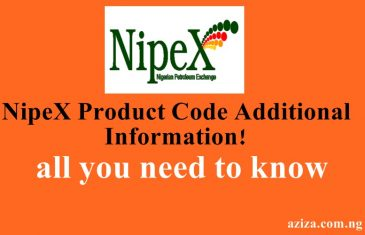 NipeX product code addition information