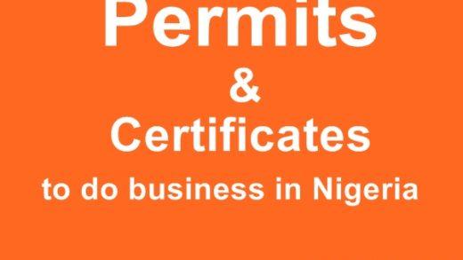 Business permit and Expatriate Quota in Nigeria