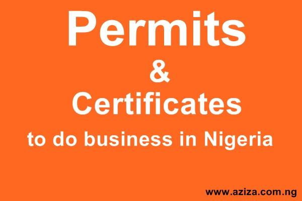 NIPC Business Permit/ License in Nigerian