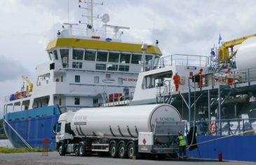 Bunkering operations in Nigeria