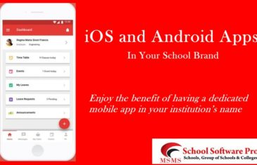 School Software or SCHOOL ERP with MOBILE APPS