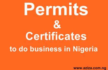 Business License And Permits In Nigeria