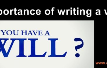 importance of writing a will