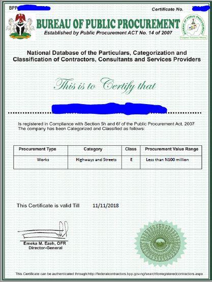 BPP Certificate Registration Service