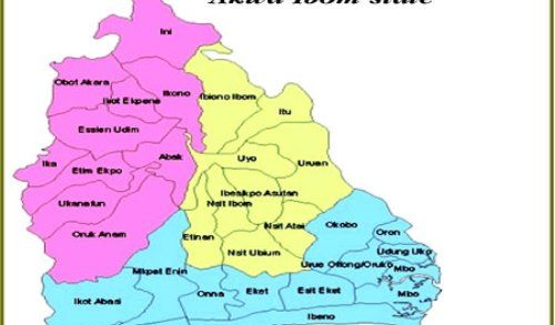 Akwa Ibom State Local Governments, Headquarters & Codes