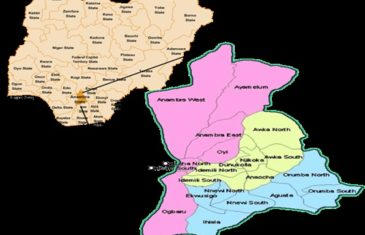 Anambra State Local Government Areas LGA