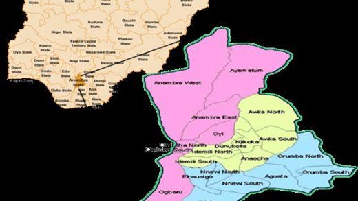 Anambra State Local Government Areas LGA