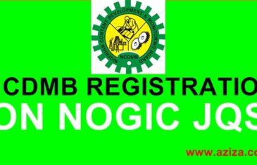 NCDMB and NOGIC JQS registrations