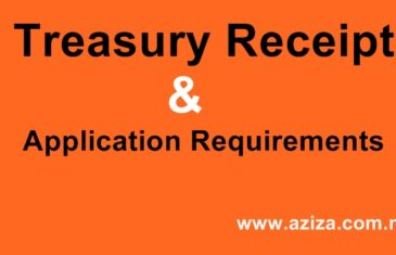 Treasury Receipt and Recruiters License
