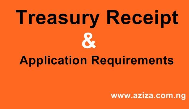 Treasury Receipt
