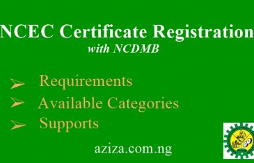 NCEC Certificate Registration with NCDMB