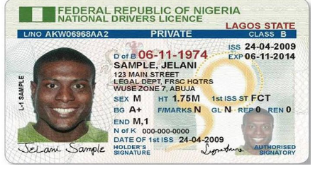 how to obtain Nigerian drivers license