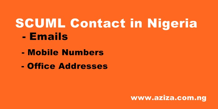 SCUML OFFICES ADDRESS, EMAIL & MOBILE CONTACTS