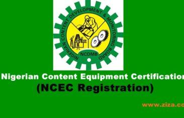 nigerian content equipment certification