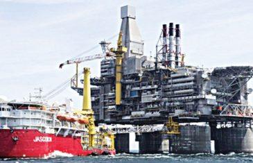 Nigeria offshore oil production