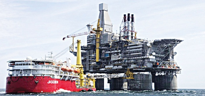 DEEPWATER OIL & GAS ACCOUNT OVER 40% OF NIGERIA'S PRODUCTION
