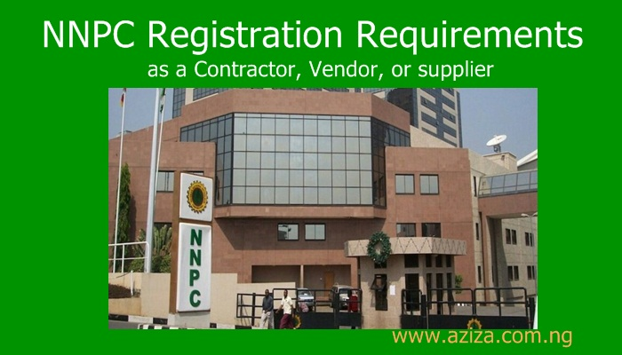 NNPC Registration Requirements as a Contractor