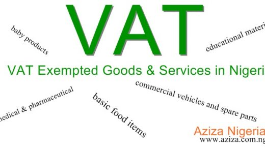 list of Non Vatable Goods and Services in Nigeria