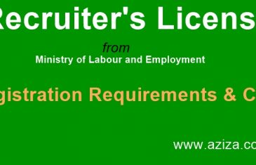 Recruiter's License Registration Cost & Requirements