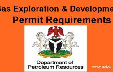 Gas Exploration & Development Permit Requirements