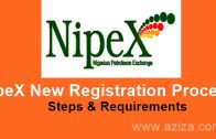 NipeX New Registration Process & Requirements