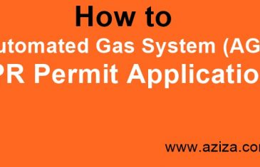 How: Automated Gas System (AGS) DPR Permit
