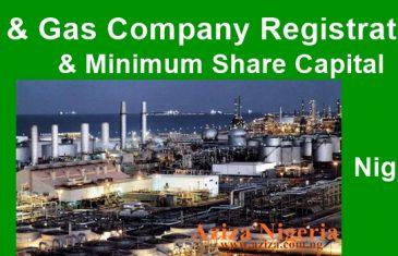 Oil & Gas Company Registration in Nigeria