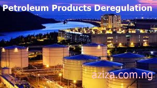 petroleum products deregulation