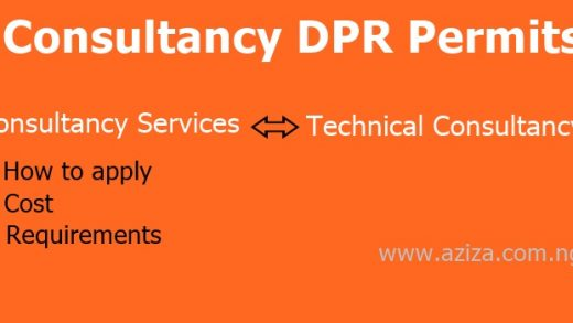 Consultancy Services and Technical Consultancy DPR permit