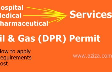 Hospital/Medical / Pharmaceutical Services Oil and Gas DPR Permit